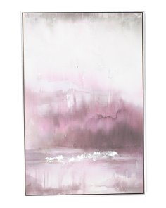 24x36 Dusk Abstract Canvas Wall Art