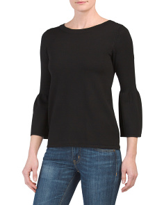 Bell Sleeve Lightweight Sweater