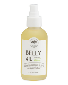 4oz Belly Oil