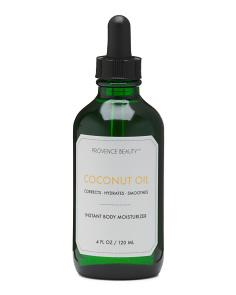 4oz Coconut Oil Body Moisturizer