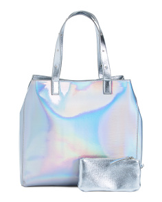 Iridescent Reversible Tote