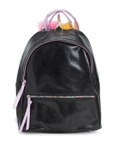 Iridescent Unicorn Horn Backpack