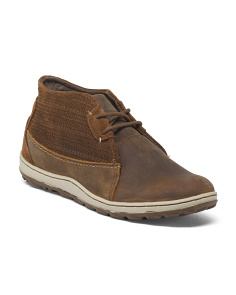 Full Grain Leather Chukka Boots