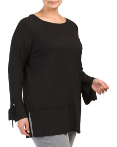 Plus Bell Sleeve Lightweight Sweater