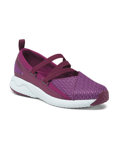 Breathable Mary Jane Slip-on Sneakers