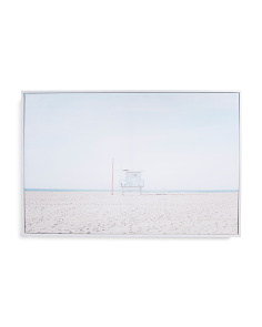24x16 Beach Photo Canvas Wall Art