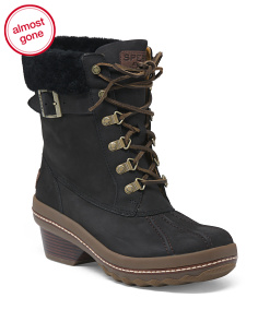 Thinsulate Rich Leather Storm Boots