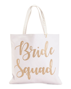 Bride Squad Reversible Tote