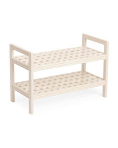 Beaumont Solid Birch Wood Bench