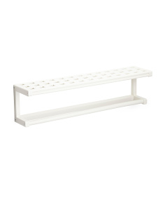 Beaumont Solid Birch Wood Towel Rack