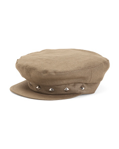 Made In Italy Linen Brando Cap