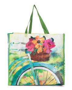 Floral Sunflower Bicycle Bag
