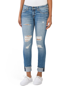 Made In USA Dre Slim Boyfriend Jeans