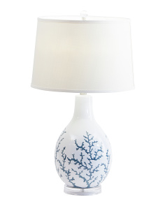 Sixpenny Coral Table Lamp