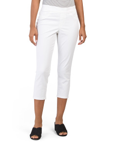 Thea Pull On Cropped Pants