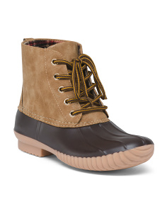 Mid-shaft Duck Boots