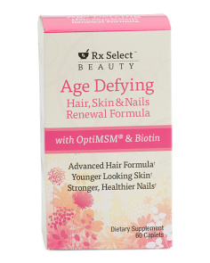 60ct Hair, Nails & Skin Renewal Formula Dietary Supplement