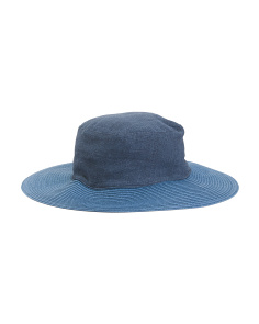 Made In Italy Linen Hat