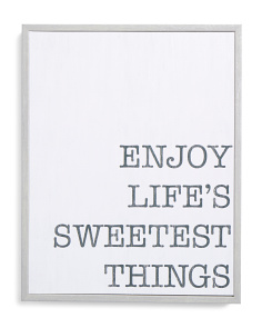 11x14 Sweetest Things Boxed Wall Art