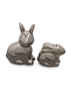 Bunny Rabbit Salt And Pepper Shakers