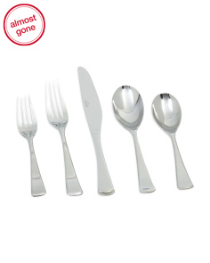 20pc Mulberry Stainless Steel Flatware Set