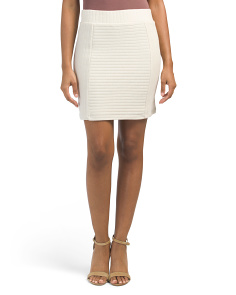 Juniors Bara Ribbed Skirt