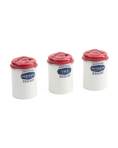 3pc Belmont Storage Canisters