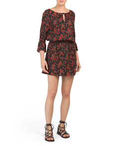 Juniors Mackay Printed Dress