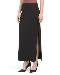 Juniors Mattison Rib Maxi Skirt
