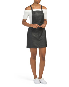 Juniors Robinson Faux Leather Skirtall