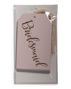 12ct Bride To Be Oversize Gift Tags