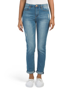 Juniors High Waist Slim Jeans