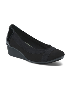 Comfort Slip On Wedges