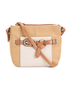 The Statement Leather Crossbody