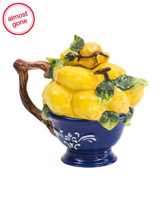 Bunch Of Lemons Teapot
