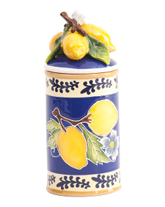 Lemon Canister