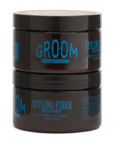Men's 2pk Styling Fiber
