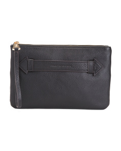Melville Luxury Leather Clutch