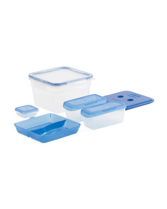 10pc Lunch Kit Food Storage Set
