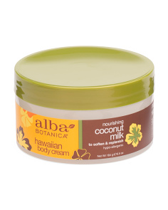 Natural Coconut Milk Body Cream