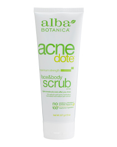 Natural Face & Body Acne Scrub