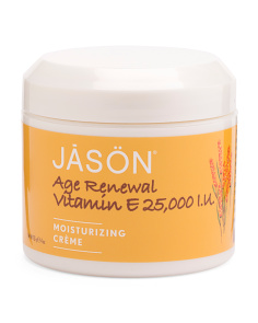 Natural Age Renewal Vitamin E Cream