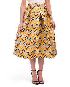 Made In USA Clarisa Pleated Skirt