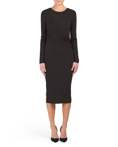 Long Sleeve Twist Dress