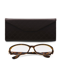 Made In Italy Designer Optical Frame With Case