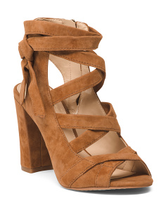 Wide Wigh Heel Strappy