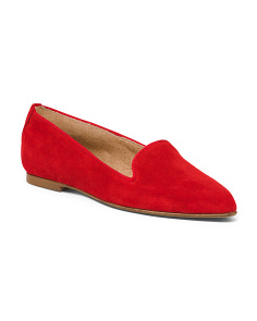 Suede Slip-on Loafers
