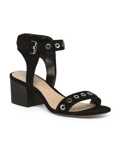 Wide One Band Leather Sandals