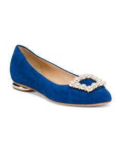 Made In Italy Suede Flats
