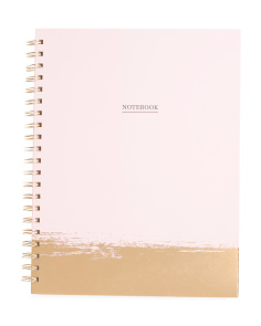 Foil Dipped Notebook